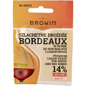 Drożdże do wina Bordeaux  Browin 400110