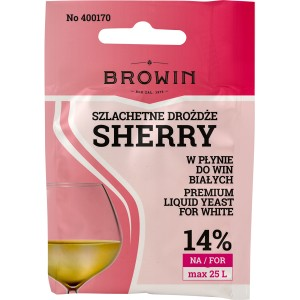 Drożdże do wina Sherry Browin 400170