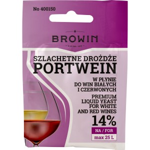Drożdże do wina Portwein Browin 400150