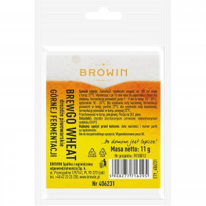 Drożdże piwowarskie BREWGO Wheat Browin 406231